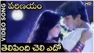 Parinayam Movie Video Song | Telipindi Cheli Edo | Shahid Kapoor | Amrita Rao | Telugu Best Songs - RAJSHRITELUGU