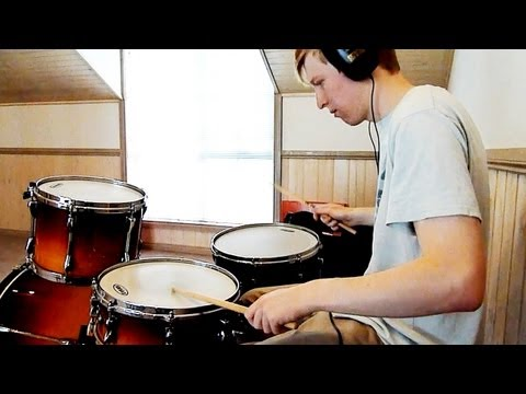 Double Paradiddle Around The Drum Kit