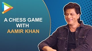 "Shah Rukh Khan: ""Aamir Khan - Post Dinner Can I Sit Down You & Play Chess?"" - HUNGAMA"