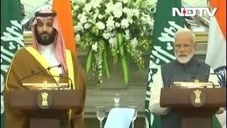 भारत-सऊदी अरब का साझा बयान- आतंकियों को सजा जरूरी - NDTVINDIA