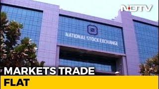 Sensex, Nifty Move In A Narrow Range - NDTVPROFIT