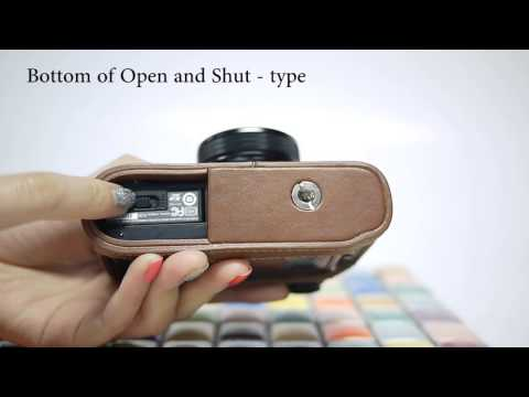 CIESTA FUJIFILM X20 Leather Case