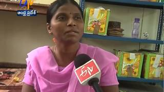 Attractive Handicrafts Made By Handicapped In Anantapur District - ETV2INDIA