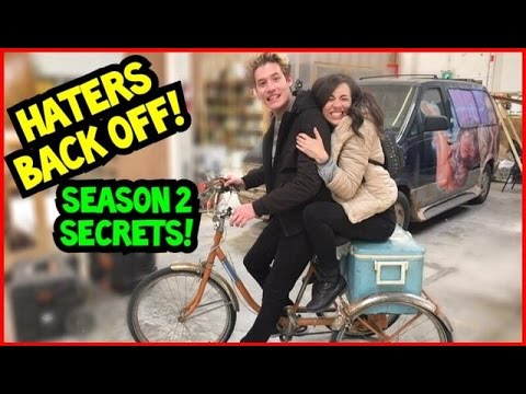 HATERS BACK OFF! Behind the scenes of Season 2!