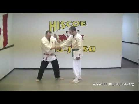 Self Defense Techniques- How to escape a Hard Handshake Escape - Hiscoe Jiu Jitsu