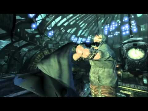 Batman: Arkham City - Riddler Guide - Physical Challenges-Line 5
