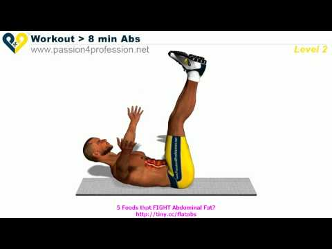 Abs workout how to have six pack - Level 2 -XRA2H853gUM