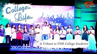 College Life Official Music Video || by Ramji Vullangi - TELUGUONE
