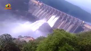 As Water Level Swells, Srisailam Dam Floodgates Opened Today | Mango News - MANGONEWS