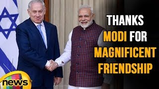 Israeli PM Netanyahu thanks PM Modi for Magnificent Hospitality and Friendship | Mango News - MANGONEWS
