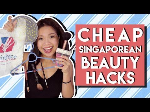 CHEAP SINGAPOREAN BEAUTY HACKS | PrettySmart EP: 102