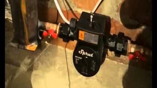 Экономичное электрическое отопление  Тестирование системы  Част1