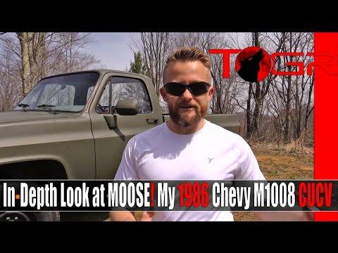 In-Depth Look at MOOSE! My 1986 Chevy M1008 CUCV