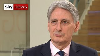 Hammond won't rule out a second EU referendum - SKYNEWS