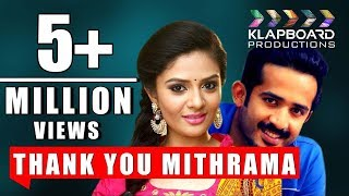 Thank you Mithrama || Anchor Ravi || Sree Mukhi || Klapboard Productions || Directed by Rakesh - YOUTUBE