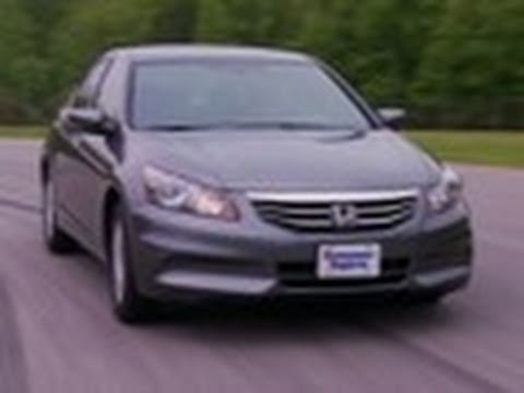 Honda Accord review from Consumer Reports