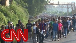 Trump warns caravan of immigrants heading to US - CNN