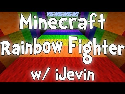 Minecraft Rainbow Fighter