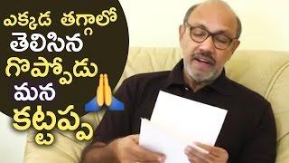 Baahubali 2 Actor Sathyaraj Apologises to Kannadigas | TFPC - TFPC