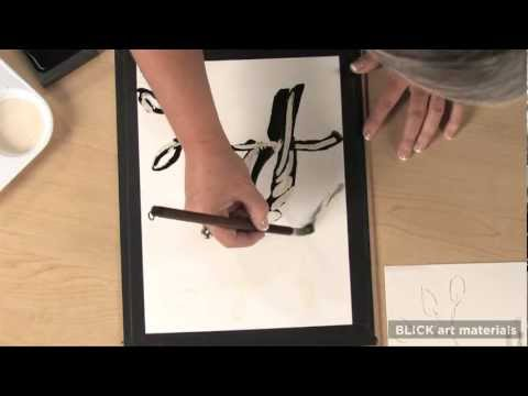 Sumi-e Resist Painting - Lesson Plan