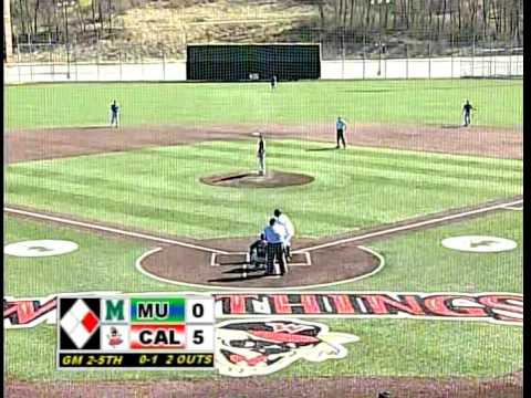 California Vulcans Baseball vs Mercyhurst 4-12-14 Game 2 FULL GAME
