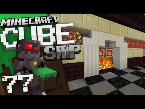 Minecraft Cube SMP Episode 77: Fireplace