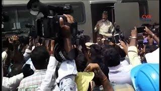 చంద్రబాబుకు తృటిలో తప్పిన ప్రమాదం : AP CM Chandrababu just missed the Mishap in Amaravathi |CVR News - CVRNEWSOFFICIAL