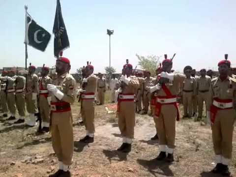 Burial of Major Ashraf Sharif Shaheed at H-11 Graveyard, Islamabad on 10th-May-2011