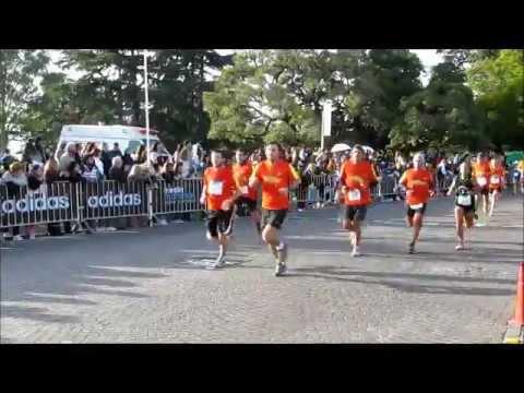 Medio Maraton Rosario Adidas 21K dia 13-Mayo-2012 Paso de Atletas en competencia