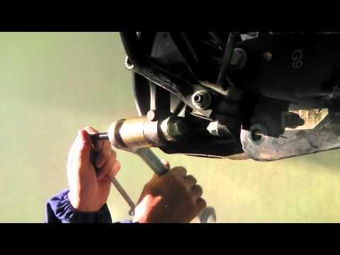 HAZET Silentlager-Werkzeug-Satz  4925-2506 - Ein- und Ausziehen Silentlager am Radlager-Gehäuse