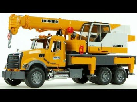 Mack Granite Liebherr Crane Truck – Muffin Songs' Oyuncakları Tanıyalım