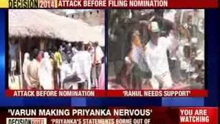 Smriti attacks Rahul - NEWSXLIVE