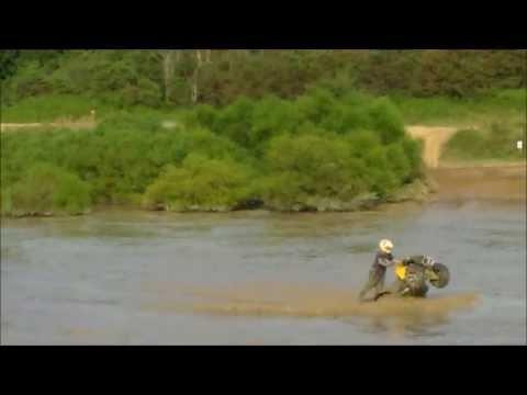 ATV's and SxS's rippin' the play pond @ Rock Run Recreation - Brain Fisher's ATV World Reunion 2013