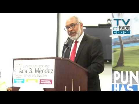 TVRadioMiami - Persio Maldonado. disertó sobre Prensa y Comunicación a la luz de la Constitución Dominicana