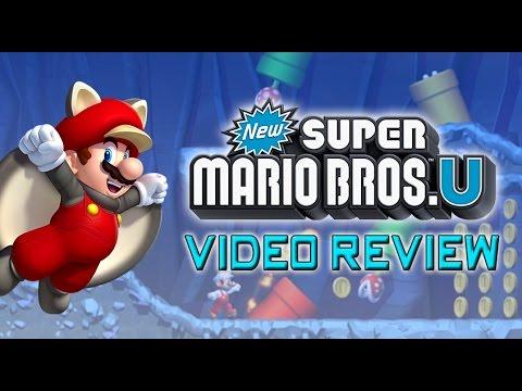 SXS - New Super Mario Bros. U (WiiU) - Video Review