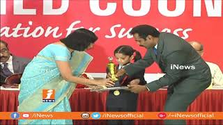 Yandamuri Veerendranath Participated In National Level Science Talent Search Awards Ceremony | iNews - INEWS