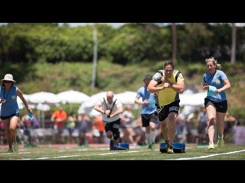 CrossFit Games Masters Live Stream: Max Distance / Sled Drag