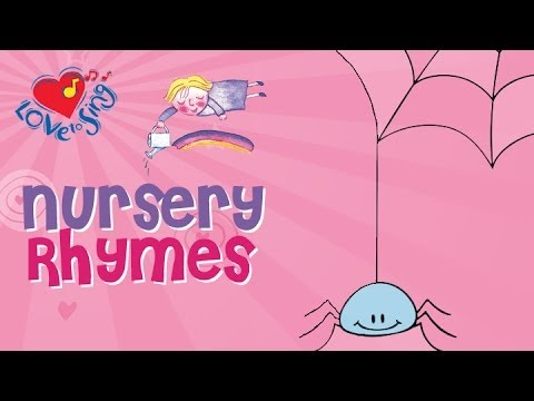 Incy Wincy Spider Nursery Rhyme - Children Love to Sing Kids Songs