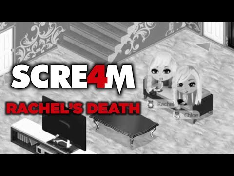 Yoville Horror Movie Scene: Scream 4 (STAB 7) Rachel's Death