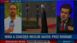 Iran President is all praise for Muslims in India, says Indian Muslims treated well - NEWSXLIVE