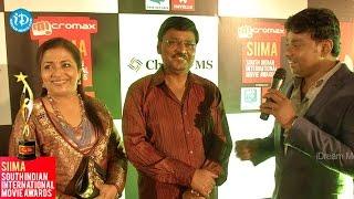 Mr Mrs K Bhagya Raj Speaks about SIIMA 2014 - Red Carpet - IDREAMMOVIES