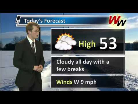 Monday March 10th AM Forecast