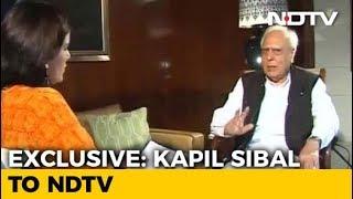 """""""Illegal, Biased"""": Kapil Sibal On Venkaiah Naidu's No To Impeachment Bid - NDTV"""