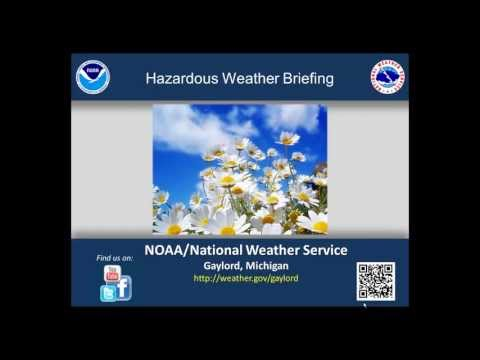 Afternoon Hazardous Weather Briefing for April 27th, 2013