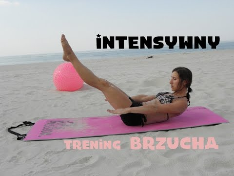 Trening na mięśnie brzucha. Zestaw  intensywnych ćwiczeń