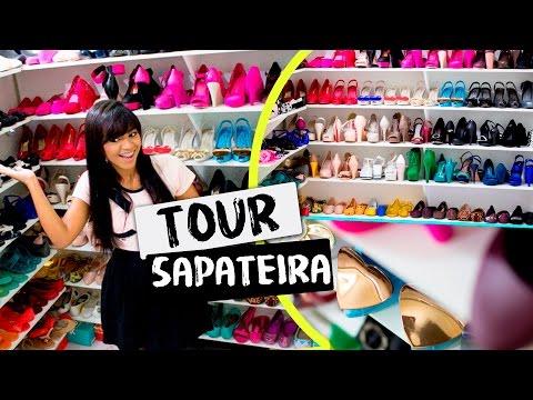 Tour pela minha Sapateira + Coleção de Melissas