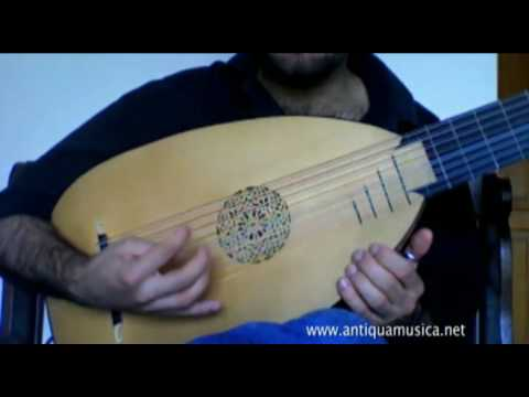 Lute Tutorial n.4 - How to play your first Renaissance dance