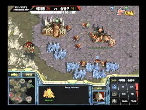 EVER2007 OSL  Jaedong vs Stork 2007-12-22  @ Fantasy II