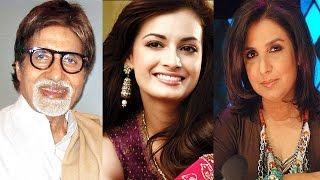 Bollywood News in 1 minute-31/07/2014 - Amitabh Bachchan, Dia Mirza, Farah Khan