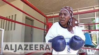 South African boxing grannies fighting to stay fit - ALJAZEERAENGLISH